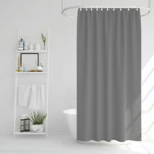 Duschvorhang Badewannen Vorhang  Elegante Grau 178 x 183 cm Dusche PVC-frei PEVA