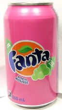 FULL 355ml 12oz Canadian Fanta Cream Soda Canada Bilingual French English 2016