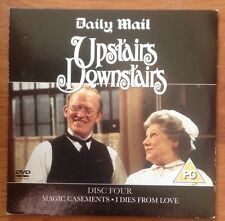 DVD - UPSTAIRS DOWNSTAIRS DISC 4 Magic Casements/I Dies From Love - NEWSPAPER PR