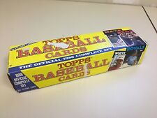1986 Topps Complete Set Baseball 792 Picture Cards Factory