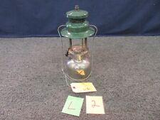 Antique Coleman Lantern Chrome 242C 1950 Missing Globe Glass