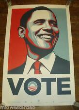 Shepard Fairey Art Print President Barack Obama VOTE Poster #5000 Obey Giant