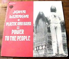 FRENCH 1970s JOHN LENNON & PLASTIC ONO BAND 45 LP RECORD - MADE IN FRANCE - RARE