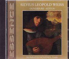 SILVIUS LEOPOLD WEISS| OUVERTURE - SUITEN| Konrad Junghänel |CD-Album