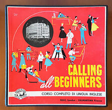 CALLING ALL BEGINERS 4 VINILE VALMARTINA, VINTAGE ANNI 50