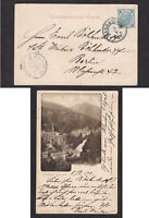 Austria 1901 Postcard Postal Card