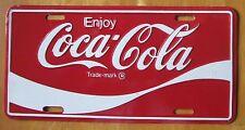 1990's ENJOY COCA-COLA BOOSTER License Plate
