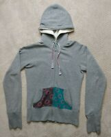 Hurley Women/'s Long Fleece Jacket Hooded Full Zip Up Fleece Coat with Pockets