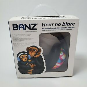 Baby Banz Infant Hearing Protection Earmuffs Purple Hear No Blare 0-2 Years Old