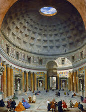 Interior of the panthéon, rome Giovanni paolo pannini Dôme Italie B a3 02115