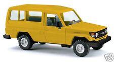 Busch H0 43554 Toyota Land Cruiser HZJ 78 »Gelb«  1:87