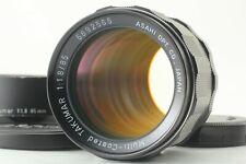 [MINT + Hood] Pentax Super Multi Coated SMC Takumar 85mm F/1.8 From JAPAN #0189