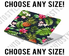 Tropical Floral Pineapple Laptop Skin Decal Sticker Tablet Skin Vinyl Cover