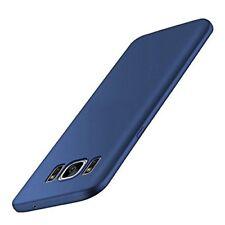 Samsung Galaxy S9 PLUS CUSTODIA Slim TPU Frame Protezione completa Scrub Sabbia Copertura Blu