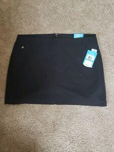 PGA tour Ladies Size 16 Black Golf  Skirt Shorts