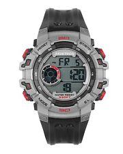 Armitron Men's Black Resin Digital Watch, 100 Meter WR, Chronograph, 40/8399GBK