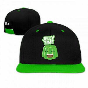 Unisex Youtube Jelly Time Men Women Adjustable Baseball Caps Hat