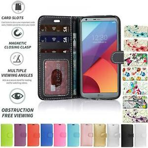 LG K8 2018/K9 Book Pouch Cover Case Wallet Leather Phone