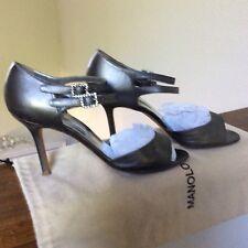 Manolo Blahnik Silver  Shoes 40,5 / 9,5