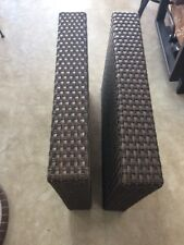 Cape May Wicker Resin Wicker Pallisades  Sectional 5 Inch Arms Left And Right