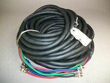 Phoenix 55RGB/S Video Cable w/ BNC Ends 75+ft - NEW/OLD STOCK