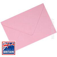 25 x C6 Pastel Pink Premium Quality 100gsm Envelopes  114 x 162 mm