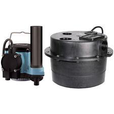 Little Giant WRSC-6 - Compact Drainosaur® 1/3 HP Sink/Drain Pump System w...