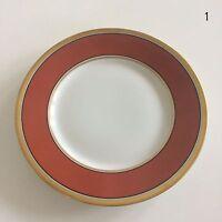"Richard Ginori Contessa Rust Red Salad Dessert Plate 7 5/8"" Italy Retired EUC"