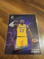 2019-20 Panini Donruss Optic LeBron James My House - Purple Prizm Holo Lakers