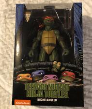 "NECA 7"" Michelangelo 1990 Movie Ninja Turtles TMNT Michaelangelo NIB"