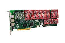 OpenVox A1200P0210 12 Port Analog PCI Base Card + 2 FXS + 10 FXO, Ethernet(RJ45)