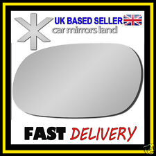 Left Wing Mirror Glass Replacement MITSUBISHI CARISMA 1995-2006 Stick ON