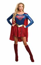 Rubie's Official Supergirl Ladies Fancy Dress Superhero Womens Adults Super Girl