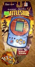 HTF 2002 MB Battleship HANDHELD Electronic GAME 3 Games 3 Skill Levels NEW