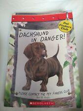 Dachshund in Danger (Pet Finders Club #8)