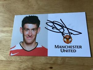 David Jones footballer Manchester United Burnley Derby signed photo/autograph