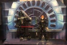 "Star Wars Force Link 3.75"" Jedi Luke Skywalker Throne Room Darth Vader Diorama"