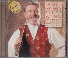 JAMES GALWAY Flute Sonatas Franck Prokofiev Reinecke CD Like New
