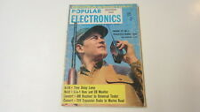 Popular Electronics December 1960, Contents Pictured