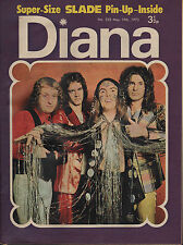 Diana Magazine No. 535 19 May 1973  Slade Brian Connolly of The Sweet Marc Bolan