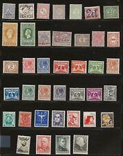 Netherlands older mint stamps - have been hinged