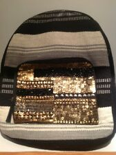 NWT Urban Outfitters Ecoté Embellished Canvas Backpack Retails 79.00