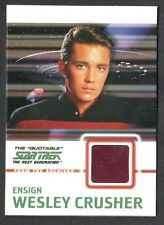 STAR TREK THE QUOTABLE NEXT GENERATION 2005 COSTUME CARD #C9 WESLEY (Red)