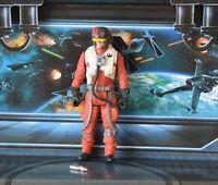 STAR WARS FIGURE 2015 FORCE AWAKENS POE DAMERON X-WING PILOT RESISTANCE