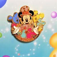 Disney Card Club Limited Tokyo Disney Resort 30th Anniversary Pin NEW Rare F/S