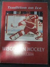 1991 1992 University of Wisconsin Badgers College Hockey Media Guide