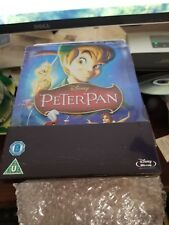 PETER PAN STEELBOOK [NEW/OOP/Blu-ray] Zavvi Exclusive *** READ ***