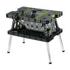 RYOBI™ Portable Foldable Workbench Work Clamp Secure Table Bench + Clamps x 2