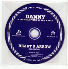 (FC423) Danny & The Champions of the World, Heart & Arrow - 2011 DJ CD