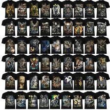 Wolf / Biker / Cat / Dog / Horse / Dragon / Reaper / Tiger /Indian/ Wild T-Shirt